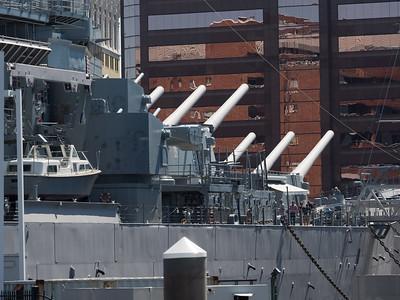 Big guns on Norfolk