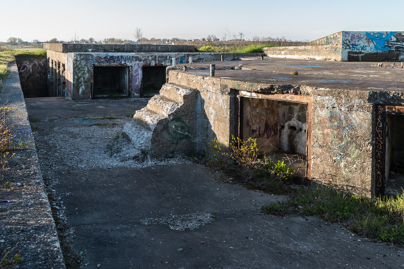 Chapel Point Battery Gun Emplacement