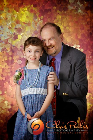 CPC Father-Daughter Dance Portraits 2012