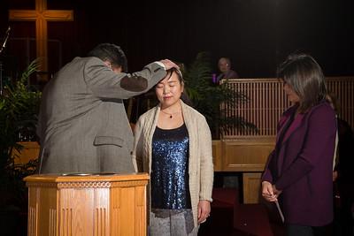 Min Lee Baptism