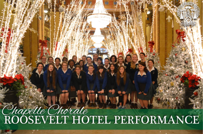 Chorale performance at The Roosevelt Hotel Performance 2013