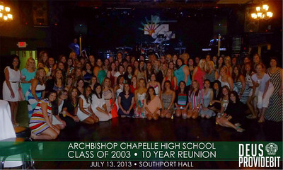 Chapelle Class of 2003 - 10 Year Reunion