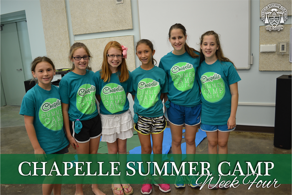 Summer Camp Week Four