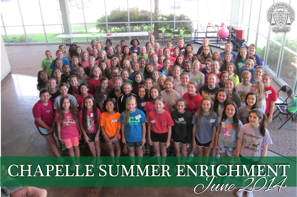 Summer Enrichment 2014