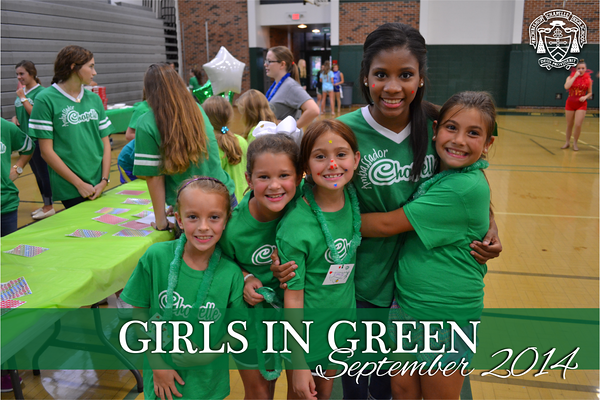 Girls in Green