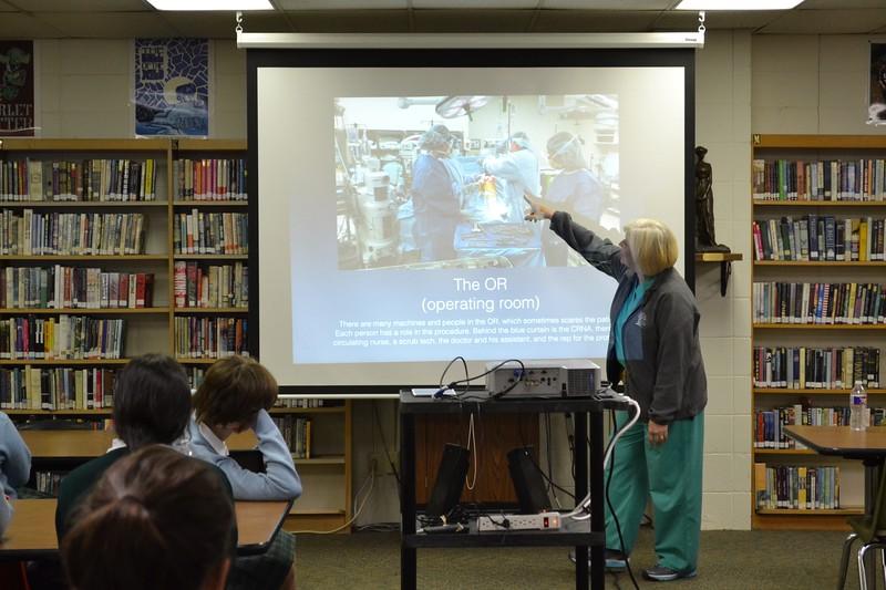 Anatomy & Physiology Guest Speaker - Archbishop Chapelle High School