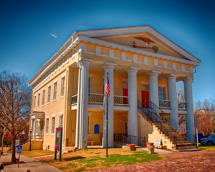 Old Newberry County Courthouse - 1852
