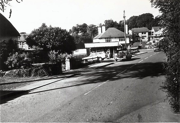 This view was taken early 1970`s