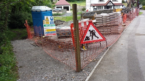 Temporary footpath access