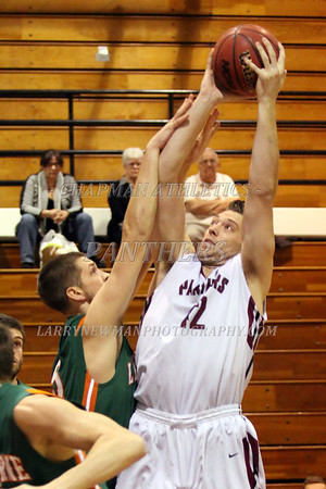 M BASKETBALL vs. La Verne 1-15-14