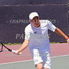 Chapman Men's Tennis 2014 : 2 galleries with 205 photos