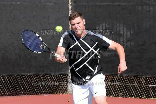 M Tennis vs. Brandeis 2-17-15