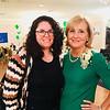 Jen Myers of Dracut and emcee Sue Zacharer of Lowell