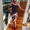 Everything is rosy: I can't wait for my roses to bloom and snow to melt! Until then, I'm bringing a little spring to you with this fun, floral dress of all pink and red roses, with brown and white polka-dots through the bodice, along with a pair of red suede ankle boots, a red flowered cuff, and a pair of red Kendra Scott earrings. Happy Greek Independence Day!