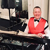 Pianist John Mansfield of Chelmsford who provided entertainment for the evening