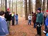 David Richert leading winter tree ID program.