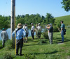 Bill Dunson's farm restoration project.
