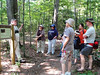 Harry Puffenberger leads a Walk with the Naturalist on the Salamander Loop of the Ni River Trail, as part of the Spotsylvania Greenway Initiative.