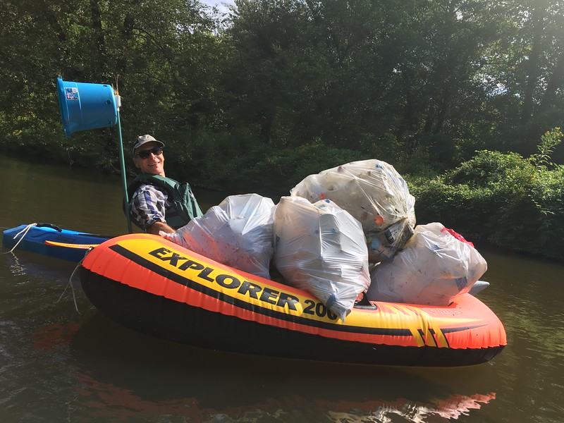 Accotink Lake Park clean up