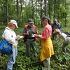 Headwaters and Rockbridge chapters learn forest ecology at McCormick Farm, Raphine, VA. August 2013.  Photo by Tom Long.