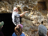 HRCVMN TRAINING - Dr. Jerre Johnson gives a geology lecture at Cornwallis's cave in Yorktown.