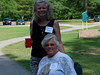 HRCVMN:  Patty Mahoney and Nancy Norton enjoy the Historic Rivers Chapter picnic at York River State Park.