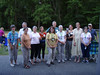 HRCVMN VOLUNTEERS enjoy a relaxing evening picnic at York River State Park.