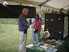 HRCVMN VOLUNTEER SERVICE: Volunteers help staff the Estuaries Day exhibit at York River State Park.