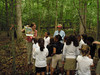 Historic Rivers Chapter member Christina Woodson teaches youth at New Kent Forestry Center.