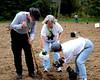 HRCVMN VOLUNTEER SERVICE PROJECT - Planting a bobwhite habitat at New Quarter Park in Williamsburg.