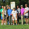 """Historic Rivers Chapter volunteers gathering to clean up litter at Powhatan Creek Park and Blueway in September 2018.  The Historic Rivers Chapter has adopted this park and act as caretakers and stewards. This is one of many stewardship projects for our Chapter.  Our year-long contract with James City County Parks & Recreation asks us to do a litter pickup at least once a month.  This is another way we have found to help continue the joint efforts of  the county and our Chapter to """"Keep JCC Beautiful"""" and showcase the local parks.  The county notes our involvement by posting the adopting group with a sign for all visitors to notice.  Photo by Shirley Devan (VMN-Historic Rivers Chapter)"""