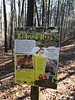 Stop 2 on the Living Forest interpretive trail at Freedom Park.