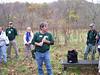 Bruce McGranahan of Banshee Chapter briefs on wetlands