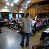 David Smith with Training Class