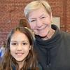 RMN Volunteer Pat Coldewey with her granddaughter.
