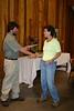 Class 2 members receive their graduation certificates from chapter advisor Peter Warren.