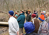 Forest Ecology at Ivy Creek with Tom Dierauf 3/25/09