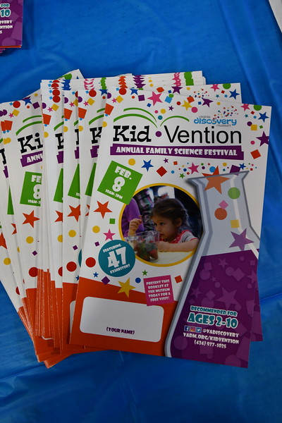 KIDVENTION - Annual Science Festival for ages 2-10. Become a Kidvention RMN Volunteer