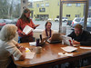 Website planning session: Bitsy Waters, Terri Keffert, Dede Smith, Eric Johnson - photo uploaded by Rose Brown