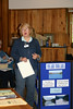 Ida Swenson talks about her volunteer work at the Volunteer Fair for Basic Training Class 4.