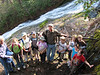 Dan Bieker and the Junior Master Naturalist 4H club.