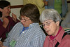 Susan Pleiss and Ruth Douglas at the very first New Chapter Coordinators Training, May 2006.