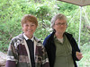 Jackie and Tana, Byrom Forest BioBlitz, Apr 24, 2010