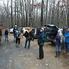RMN Salamander Hike, March 3, 2012: The group before taking off. Photo by Eric Johnson.