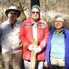 Frank Wilczek, Ralph Hall, Tana Herndon; photo taken by Rose Brown 11/10/08