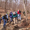 Upward we continue  - geology trip to Shenandoah National Park and the climb to the Stoney Man lookout with Ranger Sally Hurlbert.