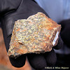 Geology trip to Shenandoah National Park and the climb to Stoney man with Ranger Sally Hurlbert -- many wonderful specimens and sights for our learning; this is unakite.