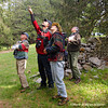 Dr. Dave Carr, Director at Blandy Experimental Farm and birding expert led the ornithology class and field experience.