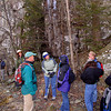 Geology trip to Shenandoah National Park and the climb to the Stoney Man lookout with Ranger Sally Hurlbert.