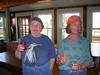 Shirley Buchanan and Dianna McDowell at False Cape Environmental Center- 1st Cohort 2007